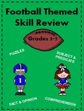Football Themed Skills Pack for Grades 3-5
