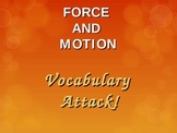 Force and Motion Intro. Vocabulary