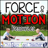 Force and Motion Kindergarten Bundle of Activities (9 Acti