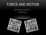 Force and Motion QR Code Scavenger Hunt