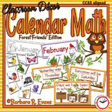 Forest Friends Calendar Icons