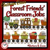 Forest Friends Classroom Jobs