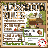 Forest Friends' Classroom Rules