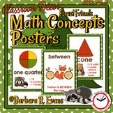 Forest Friends Math Concepts