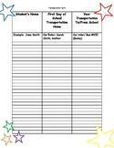 Forms for Meet the Teacher Star Theme