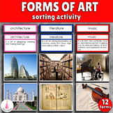 Forms of Art Montessori Cards