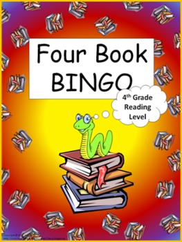 Four Book BINGO (4th grade)- Independent Reading Activity