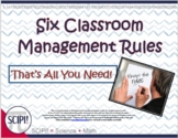 Four Classroom Management Rules-That's All You Need!