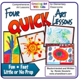 Art Lessons - Four Quick Activities