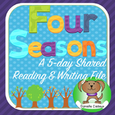 Four Seasons Shared Reading/Writing Kindergarten (Smartboard)