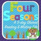 Four Seasons Shared Reading/Writing Kindergarten (Smartboard)