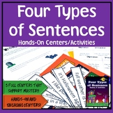 Four Types of Sentences: Centers & Activities Kit {Hallowe