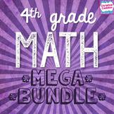 Common Core Math Fourth Grade Mega Bundle