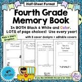 Fourth Grade Memory Book ~ Tales of a Fourth Grade Someone