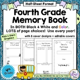 Fourth Grade Memory Book ~ Tales of a Fourth Grade Someone