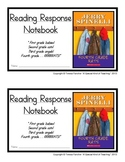 Fourth Grade Rats, by Jerry Spinelli: Reading Response Notebook