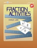 Fraction Activities Math Game Resource Book-Sample