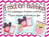 Fraction Bubbles {a fun bubblegum fraction craftivity}
