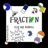 Fraction Clip Art HASSLE FREE