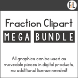 Fraction Clipart Mega Bundle