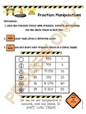 Fraction Manipulatives to Make