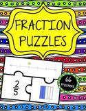 Fraction Puzzles (3 puzzle pieces)