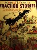 Fraction Stories by Dan Greenber Grades 3-6