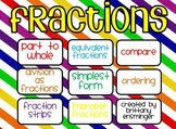 Fraction Unit Flipchart- Math EnVision Unit 10