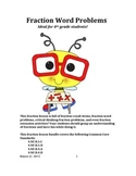 Fraction Word Problem and Activity Bundle!!
