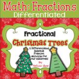 Fraction Christmas Tree & Flip book Activities Mini-Unit *