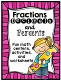 Fractions Decimals and Percents