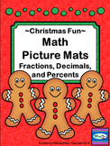 Fractions Decimals and Percents - Math Picture Mats - Chri