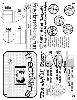 Fractions Flippy Book