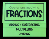 Fractions (Foldables)