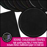 Frames: KG Round Chalkboard Frames