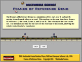 Physics - Frames of Reference Software - Mechanics Games & Demos