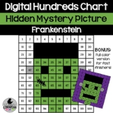 Frankenstein Hundreds Chart Hidden Picture Activity for Ha