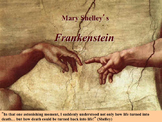 Frankenstein Novel Study Unit ~ Includes Reproducible Grap