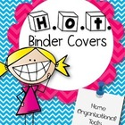 Free Back to School Editable Homework Binder Covers