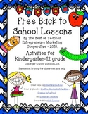 Free Back to School Lessons By The Best of Teacher Entrepr