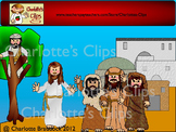 Free Bible Friends Clip art - Color by Charlotte's Clips