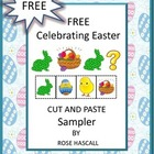 Free Celebrating Easter Cut and Paste Free Sampler