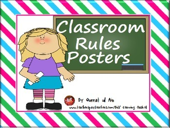 Free Classroom Rules Posters