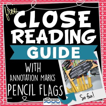 Free Close Reading Guide - Close Reading Instruction