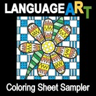 Free Coloring Sheets Sampler