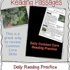 Free Common Core Reading Passages