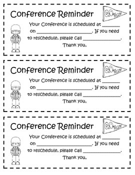 Free Conference Reminder