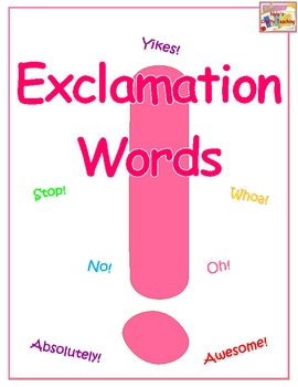 Free Exclamation Words