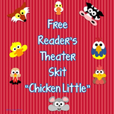 Free Gentle Version of Chicken Little Reader's Theater Script