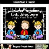 Free Literacy Teaching Resource--Look,Listen,Learn Long U